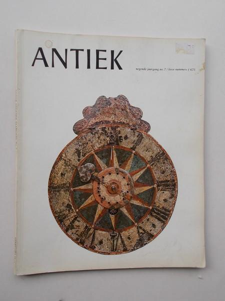 (ED.), - Antiek. Tijdschrift voor liefhebbers en kenners van oude kunst en kunstnijverheid.