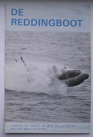 RED. - De reddingboot. Verslag van de Koninklijke Nederlandse Reddingmaatschappij. Verslag 147.