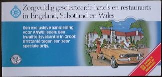 red. - ANWB. Zorgvuldig geselecteerde hotels en restaurants in Engeland, Schotland en Wales.