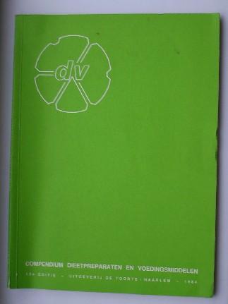 RED. - Compendium dieetpreparaten en voedingsmiddelen onder merknaam.