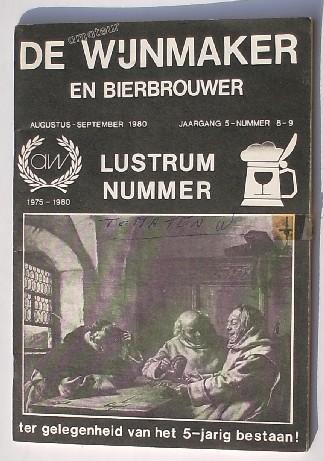 RED. - De amateur wijnmaker en bierbrouwer. 1980.