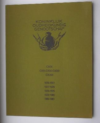 RED. - Koninklijk Oudheidkundig Genootschap. Jaarverslagen 1976-1981.