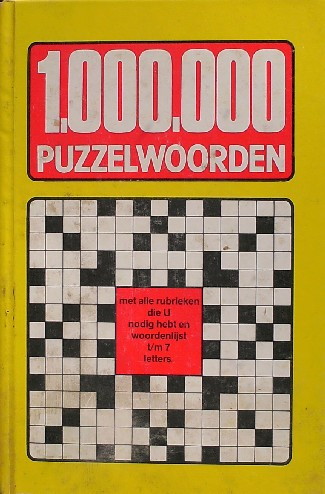 RED. - 1.000.000 puzzelwoorden.