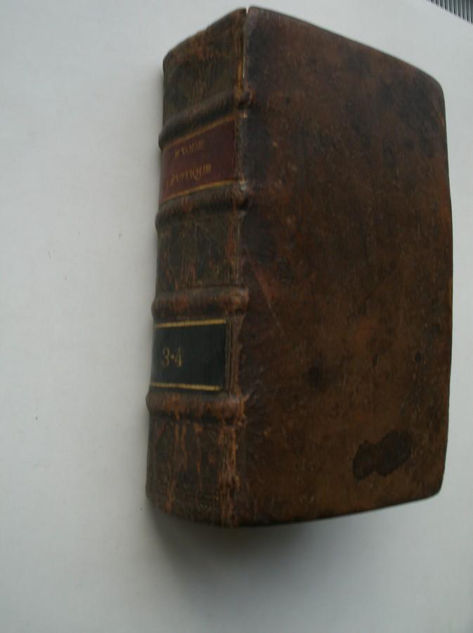 (DE SACY), - L` Exode et le Levitique traduit en francois avec l`explication du sens litteral & du sens spirituel tiree