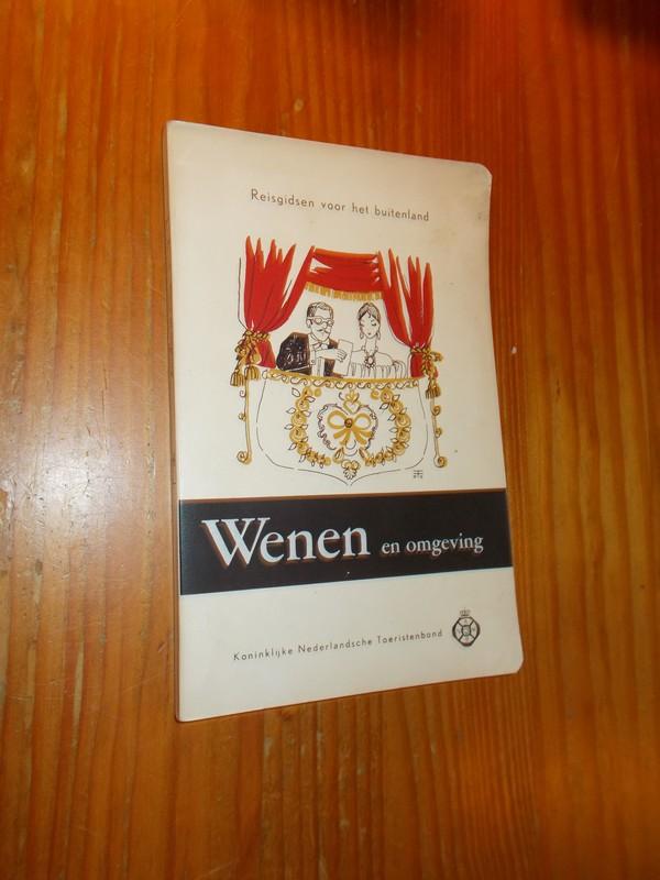 RED. - ANWB reisgidsen voor het buitenland nr. 34. Wenen en omgeving.