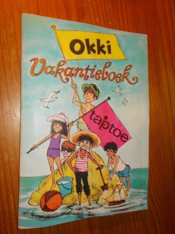 RED. - Okki Taptoe vakantieboek.