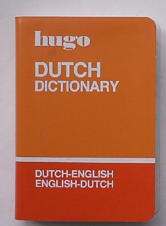 RED. - Hugo. Dutch Dictionary. Dutch-English. English-Dutch.