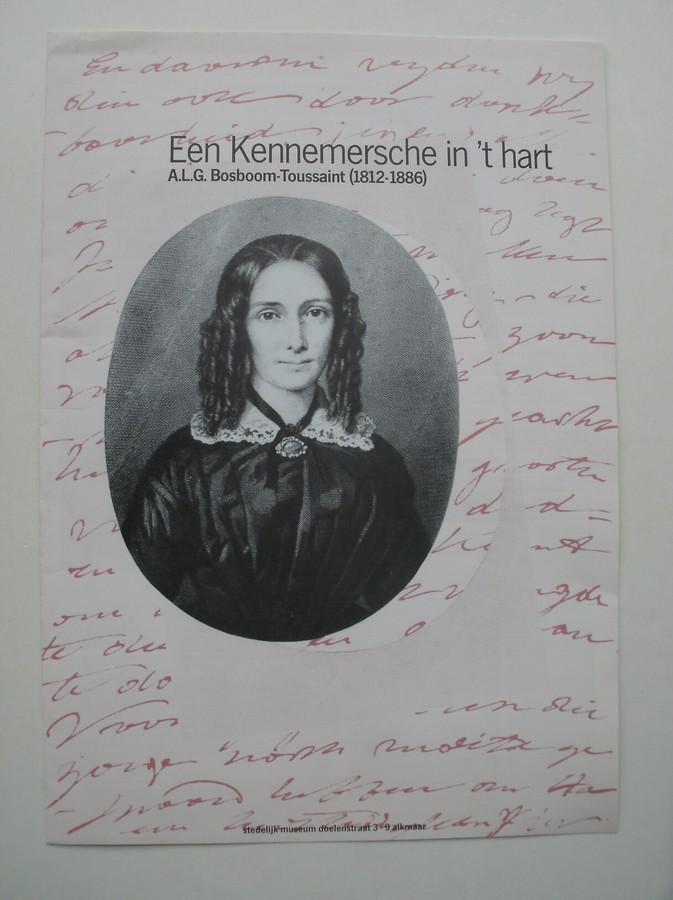 RED. - Een Kennemersche in `t Hart. A.L.G. Bosboom Toussaint (1812-1886)