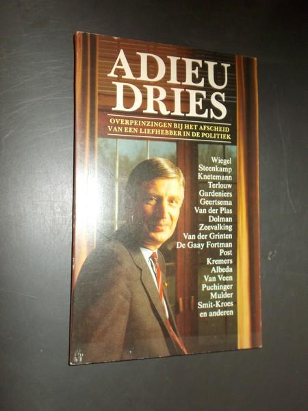 RED. - Adieu Dries.