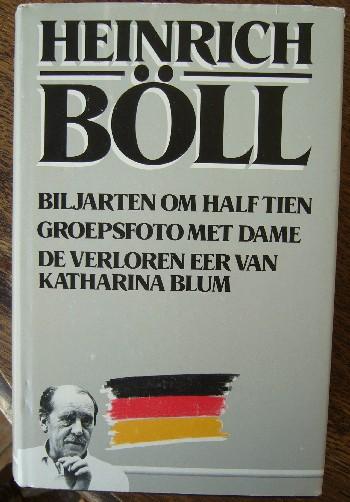 BOLL, HEINRICH, - Biljarten om half tien. Groepsfoto met dame. De verloren eer van Katharina Blum.