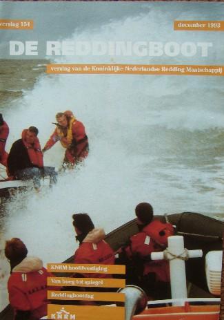 RED. - De reddingboot. Verslag van de Koninklijke Nederlandse Reddingmaatschappij. Verslag 154.