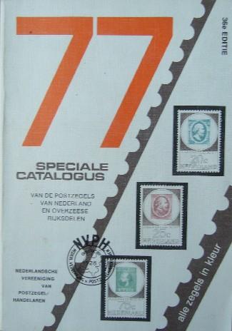 RED. - Speciale catalogus van de postzegels van Nederland en overzeese rijksdelen. 1977.