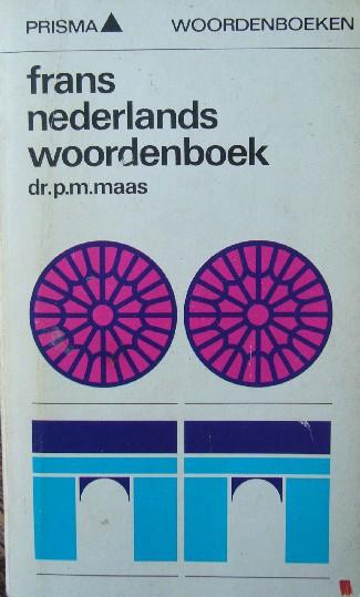 MAAS, P.M., - Frans Nederlands Woo