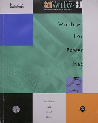 RED. - Windows for Power Mac. Soft Windows 3.0.
