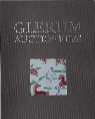 RED. - Glerum Auctioneers. Catalogue 288.
