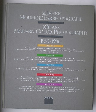 RED. - 50 Jahre Moderne Farbphotografie. 50 years Modern Colour Photography. 1936-1986.