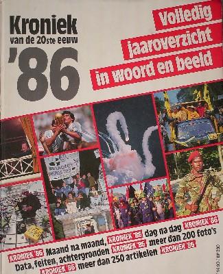 RED.- - Kroniek 1986. Volledig jaaroverzicht in woord en beeld.