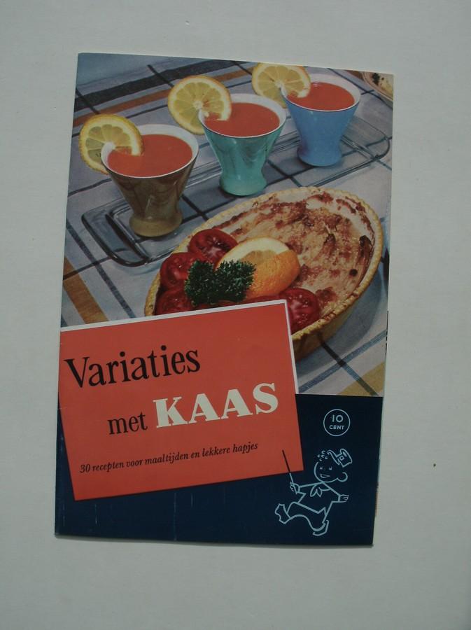 RED. - Variaties met kaas.