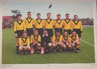 RED. - Esso Voetbalplaat VVV Venlo.