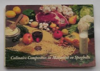 RED. - Culinaire composities in macaroni en spaghetti.