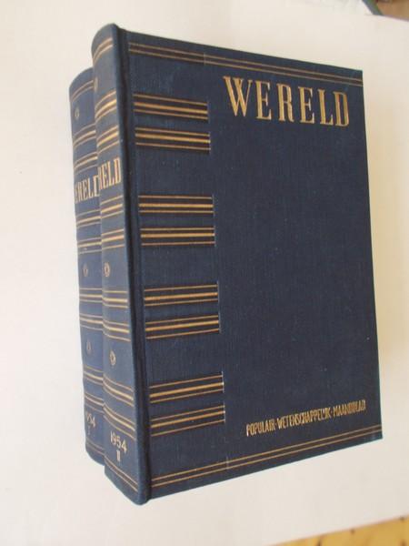 RED. - Wereld. Populair wetenschappelijk maandblad. 1954.