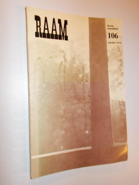 RED. - Literair maandblad Raam.