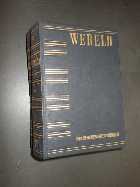 RED. - Wereld. Populair wetenschappelijk maandblad. 1960.