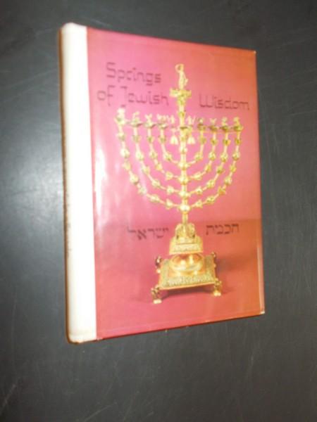 (ED.), - Springs of Jewish Wisdom.