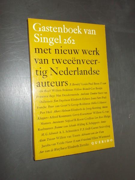 RED. - Gastenboek van Singel 262.