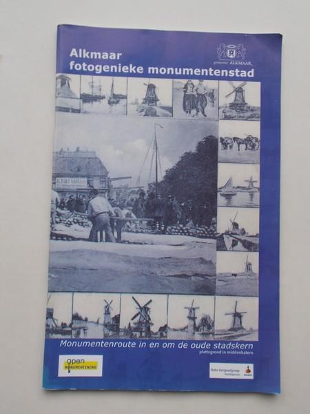 RED. - Alkmaar fotogenieke monumentenstad. Monumentenroute in en om de oude stadskern.