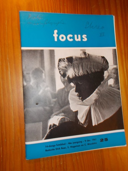 RED. - Focus. Maandblad voor fotografie. Tijdschrift.