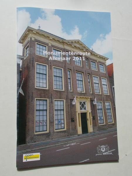 RED. - Alkmaar. Monumentenroute 2011.