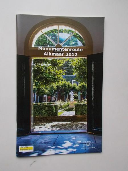 RED. - Monumentenroute Alkmaar 2012.