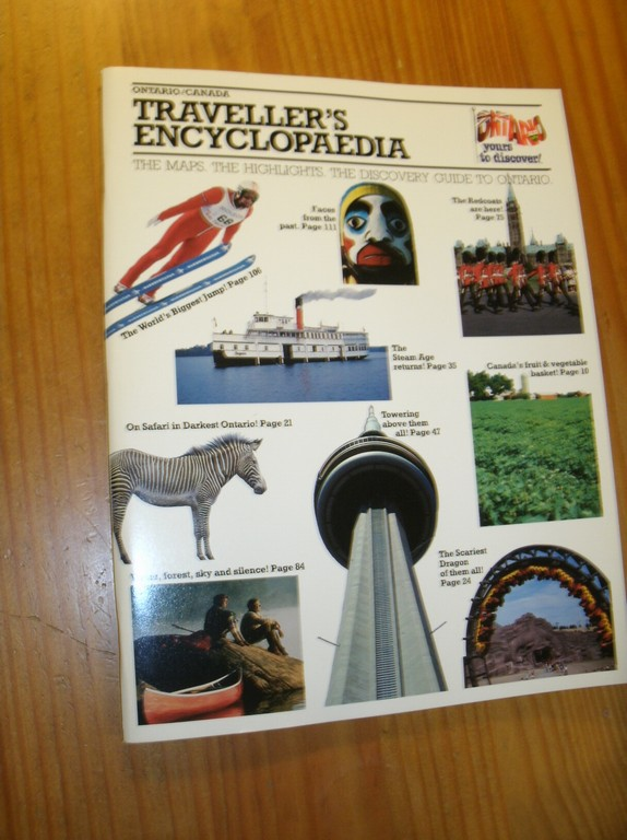 (ED.), - Ontario Canada. Traveller's encyclopedia.