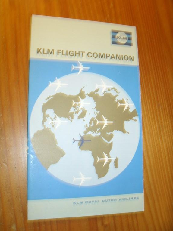RED. - KLM flight companion.