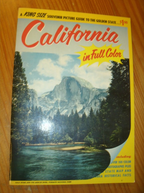 (ED.), - California. A king size souvenir picture guide to the golden state.