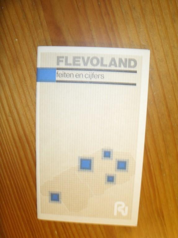RED. - Flevoland. Feiten en cijfers.