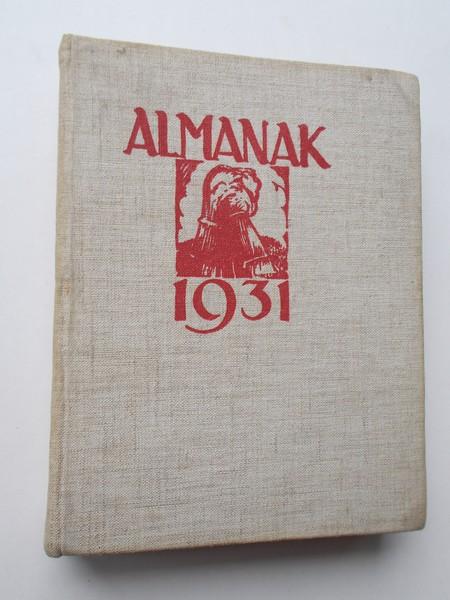 RED. - Almanak van het Wageningsch Studentencorps voor 1931.