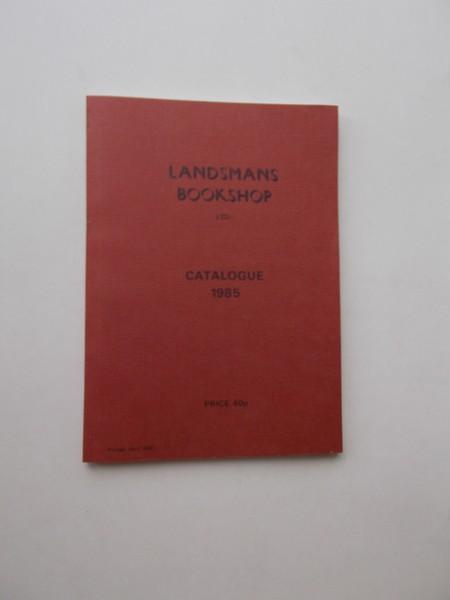RED. - Landsmans bookshop. Catalogue 1985.
