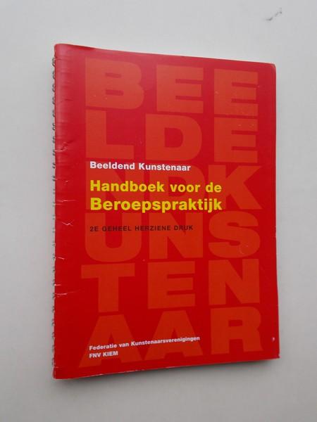 RED. - Beeldend kunstenaar. Handboek voor de beroepspraktijk.