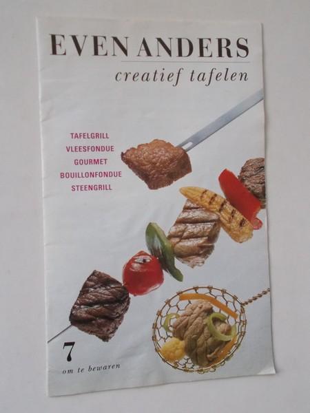 RED. - Even anders. Creatief tafelen. Tafelgrill. Vleesfondue. Gourmet. Bouillonfondue. Steengrill.
