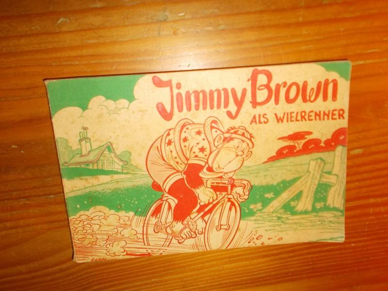 [LOOMAN, H.J. & VOGES, CAROL], - Jimmy Brown als wielrenner.