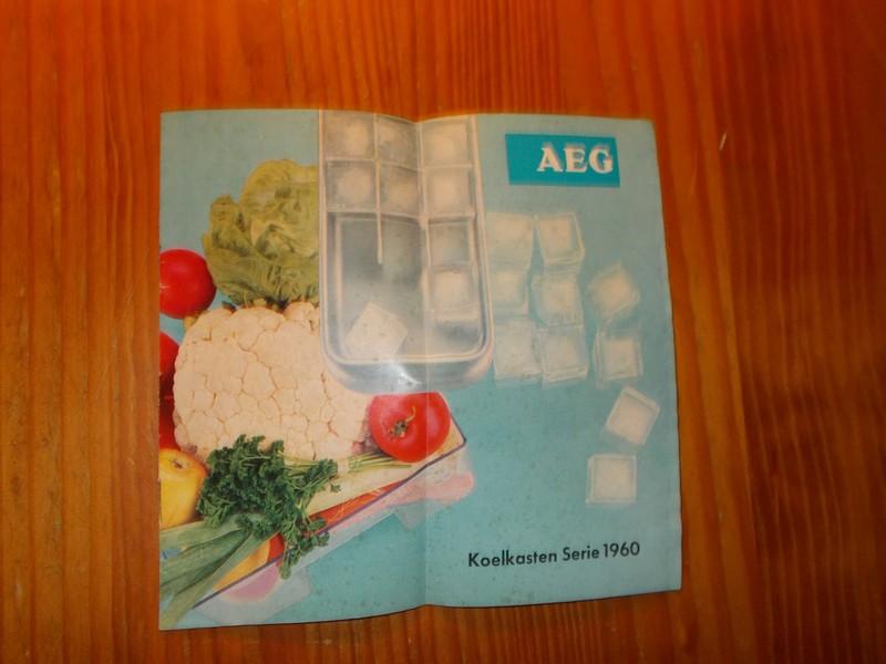 RED. - AEG koelkasten serie 1960.