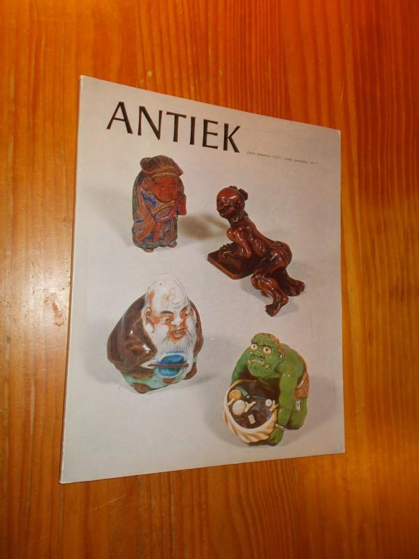 RED. - Antiek. Tijdschrift voor liefhebbers en kenners van oude kunst en kunstnijverheid.