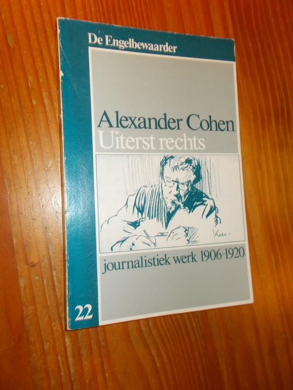 Alexander Cohen. Uiterst re...