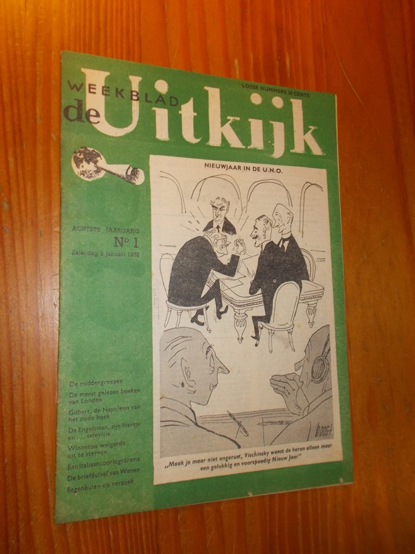 red. - Weekblad de Uitkijk.