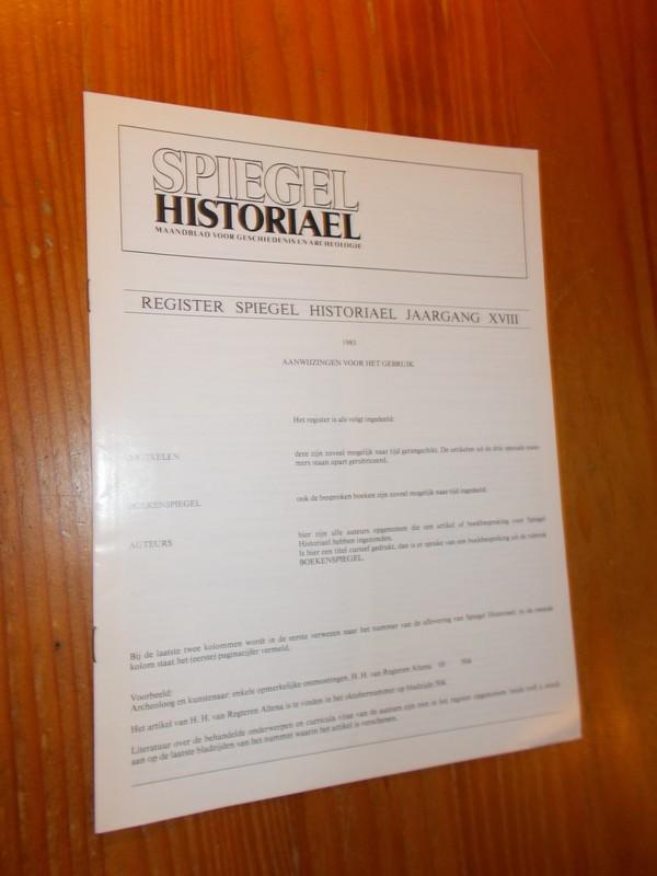 Spiegel historiael. Maandbl...