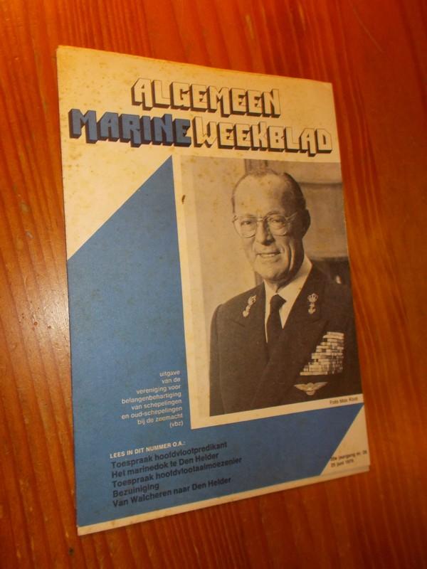 red. - Algemeen Marine Weekblad.