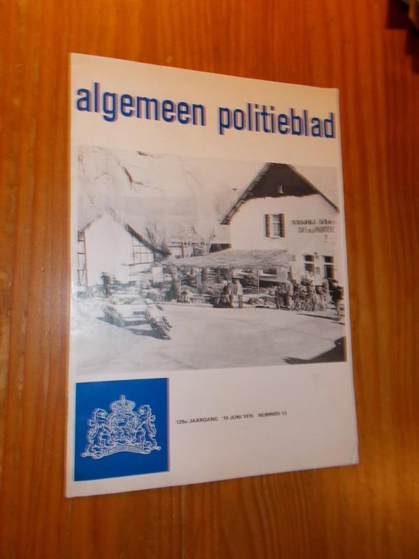 red. - Algemeen Politieblad.