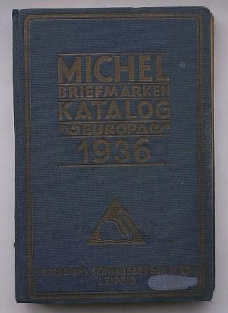 RED.- - Michel. Briefmarkenkatalog 1936. Europa.